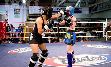 Women's Kickboxing Classes - GrabOne Mobile