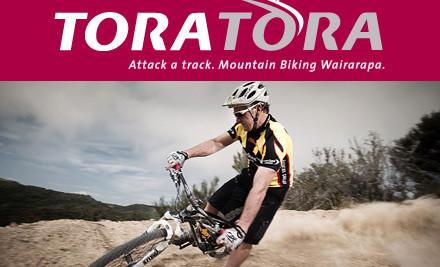 50 Off 2 Adult Mountain Bike Trail Passes At Tora Tora Grabone
